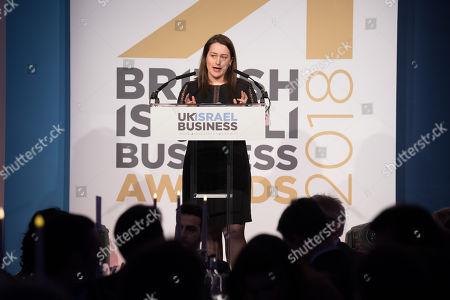 Editorial picture of British Israeli Business Awards, London, UK - 27 Feb 2018