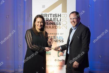 Editorial image of British Israeli Business Awards, London, UK - 27 Feb 2018
