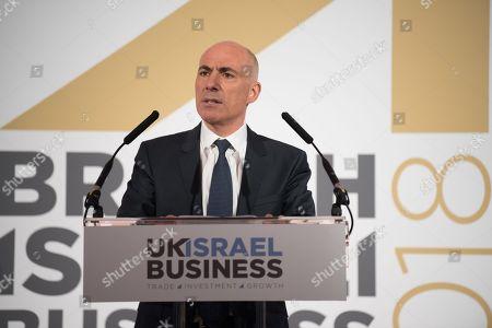 Leon Blitz, Chairman of UK Israel Business.