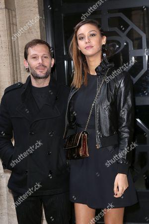 Stock Picture of Nicolas Duvauchelle and girlfriend Anouchka Alsif