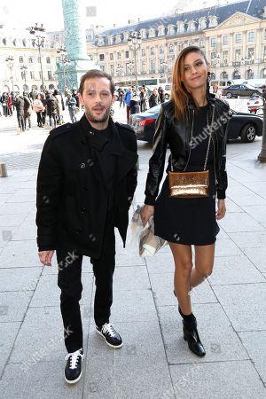 Nicolas Duvauchelle and girlfriend Anouchka Alsif