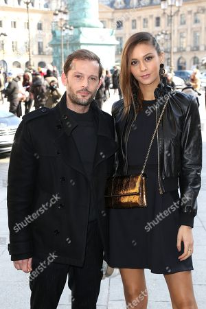 Editorial image of Lanvin show, Arrivals, Fall Winter 2018, Paris Fashion Week, France - 28 Feb 2018