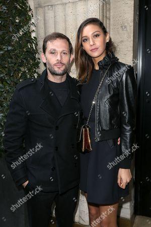 Stock Photo of Nicolas Duvauchelle and girlfriend Anouchka Alsif