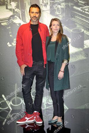 Fabio Novembre and Barbara Berlusconi