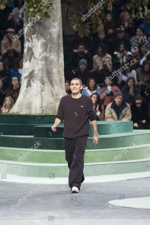 Stock Picture of Felipe Oliveira Baptista on the catwalk