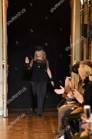 Ingie Chalhoub on the catwalk
