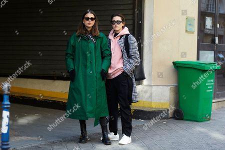 Julia Haghjoo and Sylvia Haghjoo