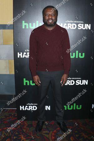 Editorial image of 'Hard Sun' TV show premiere, New York, USA - 28 Feb 2018