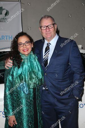 Stock Photo of Catherine Rusoff and Ed O'Neill