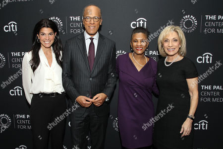 Maureen J. Reidy, Lester Holt, Andrea Mitchell