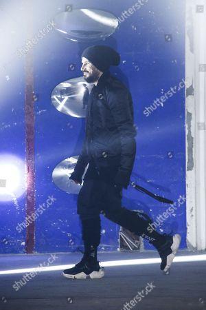Stock Photo of Ben Taverniti on the catwalk