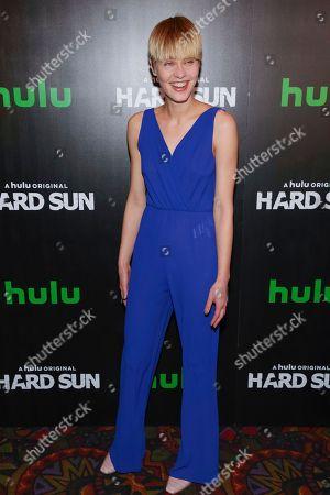 "Editorial photo of NY Premiere Hulu's ""Hard Sun"", New York, USA - 28 Feb 2018"