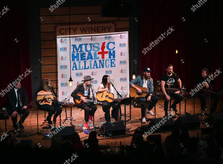 Editorial image of The First and the Worst, Benefitting Music Health Alliance, Nashville, USA - 28 Feb 2018