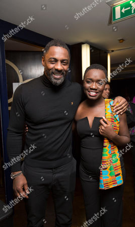 Stock Image of Idris Elba with Madeline Appiah