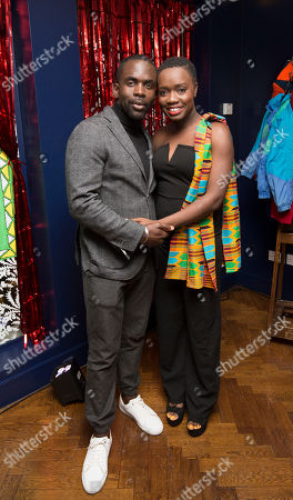 Jimmy Akingbola and Madeline Appiah