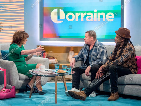 Lorraine Kelly, UB40 - Ali Campbell and Terence Wilson