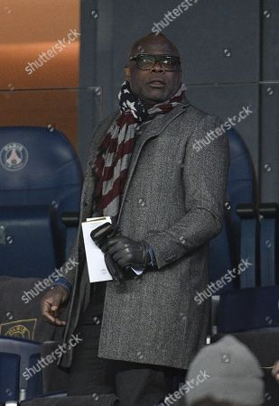 Basile Boli during the french cup match