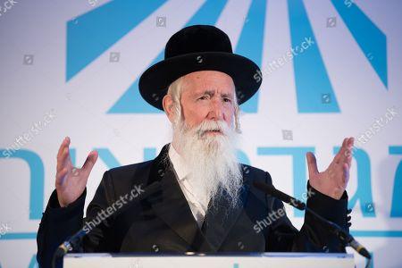 Stock Photo of Rabbi Yitzchak Dovid Grossman, founder and Presient of Migdal Ohr.