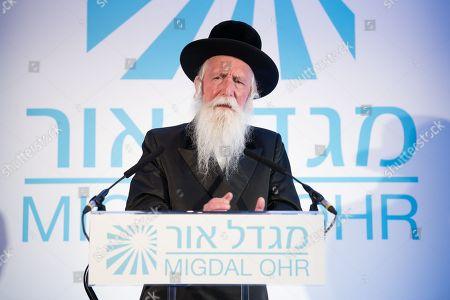 Rabbi Yitzchak Dovid Grossman, founder and Presient of Migdal Ohr.