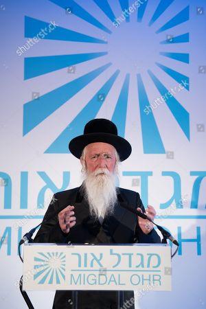 Stock Image of Rabbi Yitzchak Dovid Grossman, founder and Presient of Migdal Ohr.