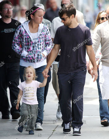 Tobey Maguire with daughter Ruby Sweetheart