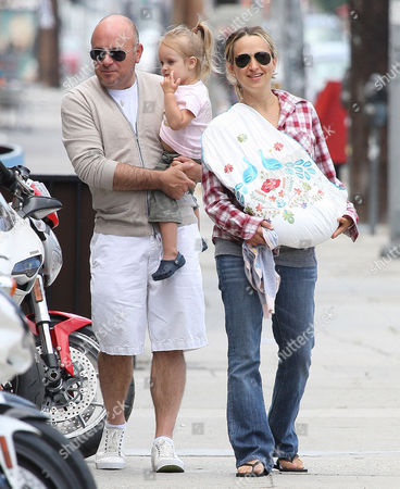 Jennifer Meyer with son, and Ruby Sweetheart with a grandparent