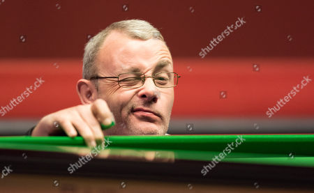 Martin Gould of England during his third round match against Mark Williams of Wales