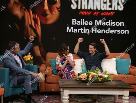 Stock Image of Bailee Madison and Martin Henderson