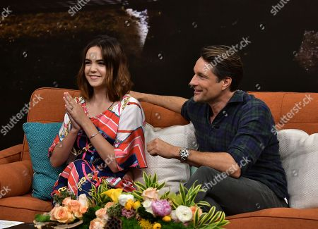 Bailee Madison and Martin Henderson