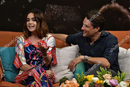 Stock Picture of Bailee Madison and Martin Henderson