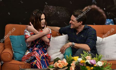 Stock Photo of Bailee Madison and Martin Henderson