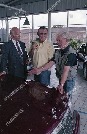 Anthony Schaeffer (as Car Salesman Malcolm Teeson), William Tarmey (as Jack Duckworth) and Geoff Hinsliff (as Don Brennan)