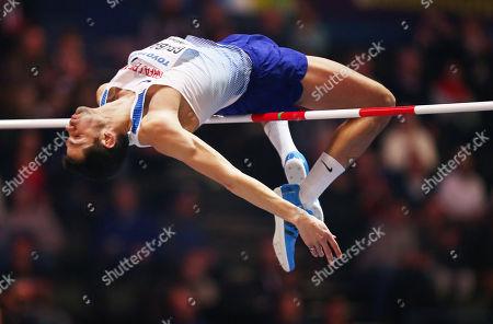 Editorial image of IAAF World Indoor Championships Birmingham 2018, Arena Birmingham, UK, 01 Mar 2018