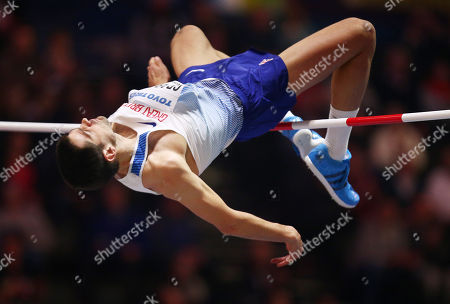 Robbie Grabarz of Great Britain during the Mens High Jump.