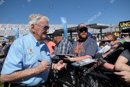 Editorial photo of NASCAR Daytona 500 Auto Racing, Daytona Beach, USA - 18 Feb 2018