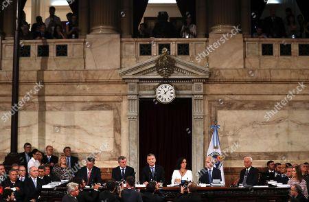 Mauricio Macri and Gabriela Michetti