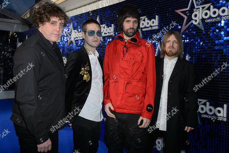 Kasabian - Ian Matthews, Tom Meighan, Serge Pizzorno and Chris Edwards