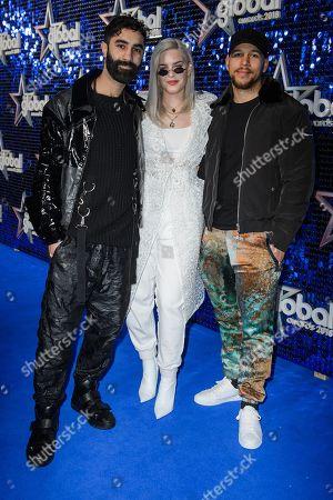 Rudimental - Amir Amor and Kesi Dryden with Anne-Marie