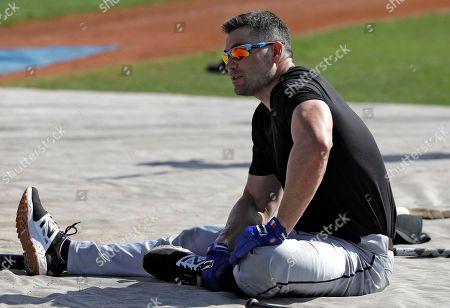Editorial photo of Free Agents Baseball, Bradenton, USA - 01 Mar 2018