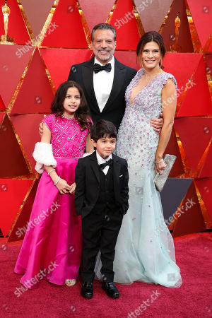 Stock Photo of Mike De Luca and family