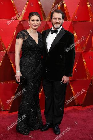 Stock Photo of Mai-Linh Lofgren and Michael Stuhlbarg