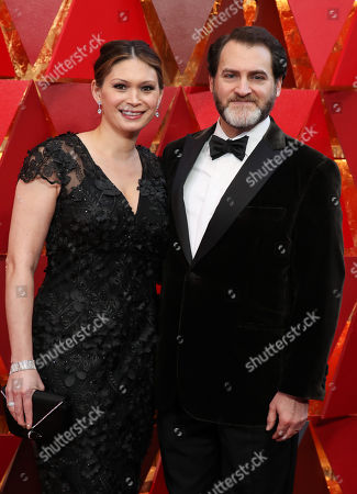 Stock Picture of Mai-Linh Lofgren and Michael Stuhlbarg