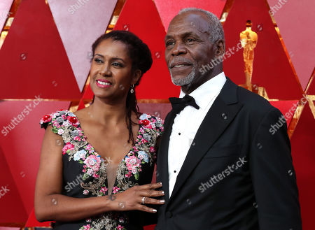 Eliane Cavalleiro and Danny Glover
