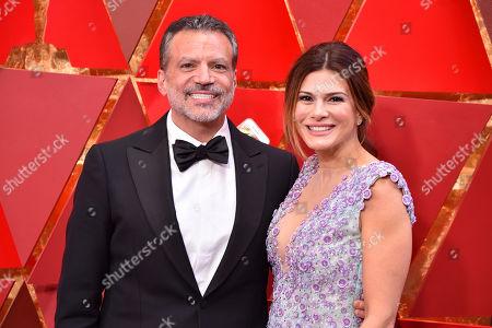 Michael De Luca and Angelique Madrid