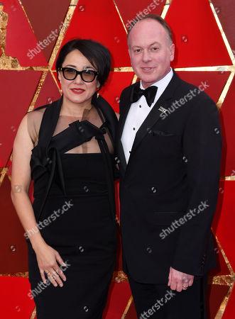 Ramsey Ann Naito and Tom McGrath