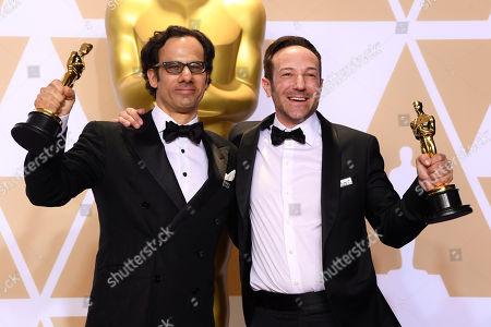 Bryan Fogel and Dan Cogan - Best Documentary Feature - 'Icarus'