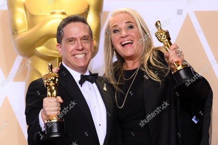 Stock Photo of Lee Unkrich and Darla K Anderson - Animated Feature - 'Coco'