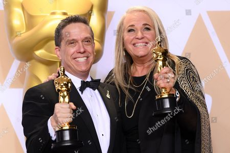 Stock Picture of Lee Unkrich and Darla K Anderson - Animated Feature - 'Coco'