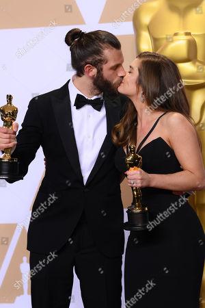Chris Overton and Rachel Shenton - Best Live Action Short Film - 'The Silent Child'