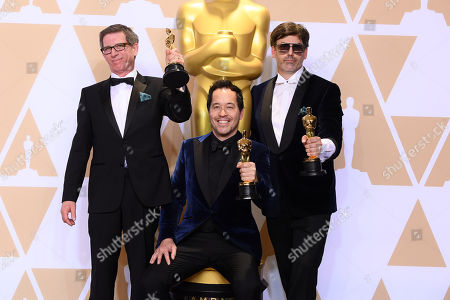 Stock Photo of Paul D. Austerberry, Jeffrey A. Melvin and Shane Vieau - Production Design - 'The Shape Of Water'